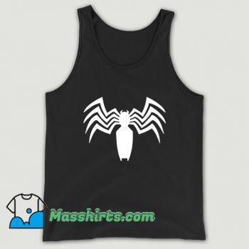 Venom Spider Man Logo Tank Top