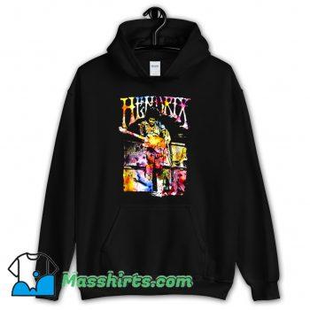 Watercolor Musician Jimi Hendrix Hoodie Streetwear