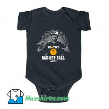 We Love That Basketball Kurtis Blow Baby Onesie