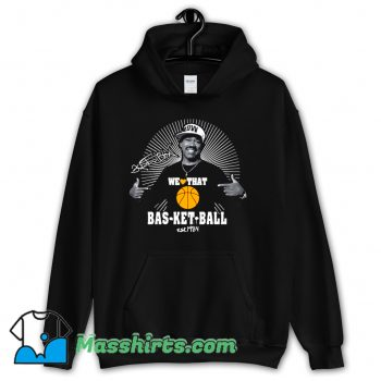 We Love That Basketball Kurtis Blow Hoodie Streetwear