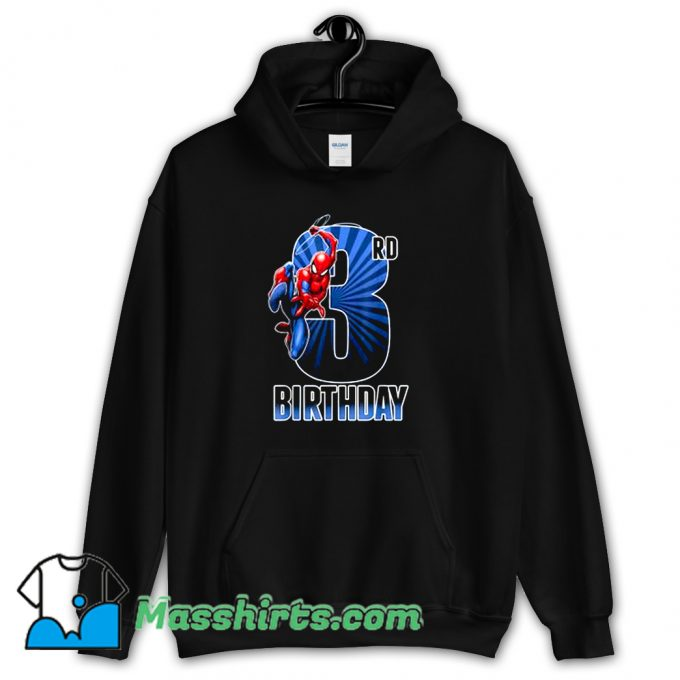 3Rd Birthday Marvel Spider-Man Hoodie Streetwear