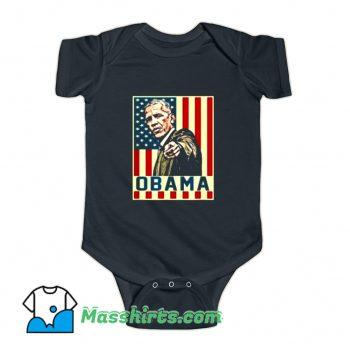 Vintage 44Th President Barack Obama Baby Onesie