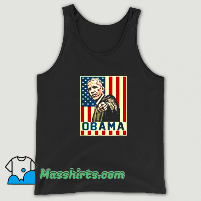 Awesome 44Th President Barack Obama Tank Top