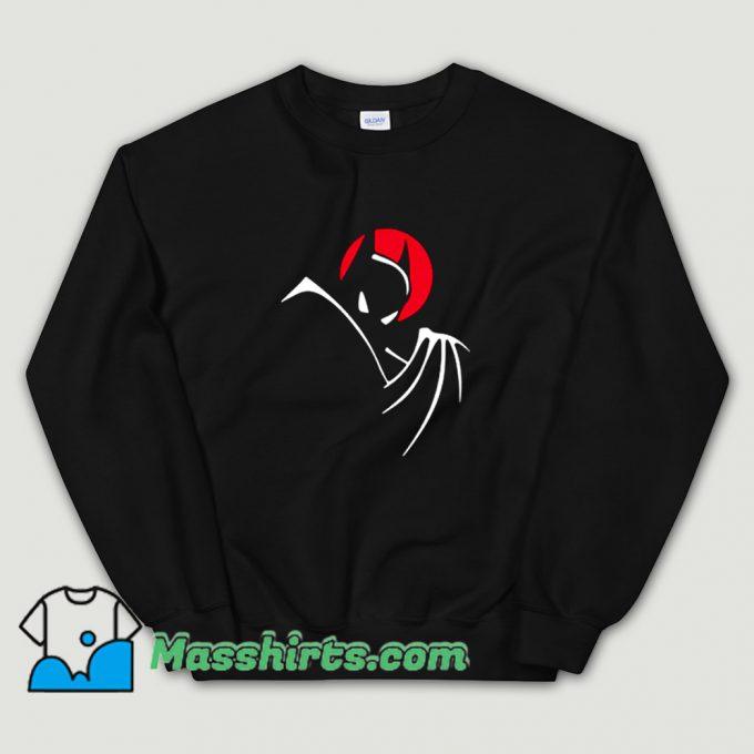 Awesome Animated Cartoon Batman Sweatshirt