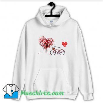 Awesome Bicycle Vogue Girl Korean Style Hoodie Streetwear