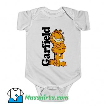 Awesome Garfield Cooper Logo Baby Onesie
