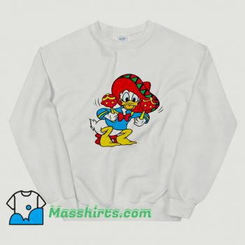 Awesome Mexican Donald Duck Sweatshirt