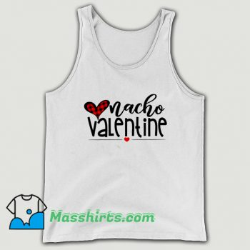 Awesome Nacho Lovers Valentine Day Tank Top