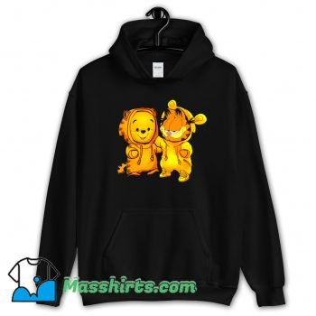 Baby Pooh Bear And Baby Garfield Classic Hoodie Streetwear