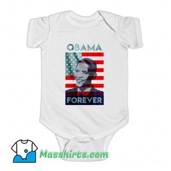 Vintage Barack Obama American Forever Baby Onesie