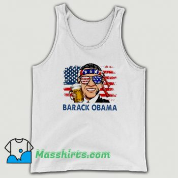 Cheap Barack Obama Hold Beer Tank Top