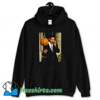 Barack Obama Playing Basketball Hoodie Streetwear