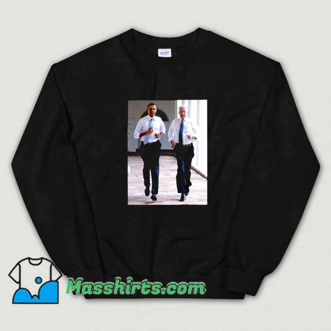 Awesome Barack Obama and Joe Biden Sweatshirt