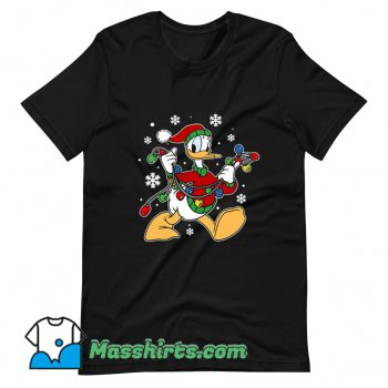 Best Donald Duck Christmas Light T Shirt Design