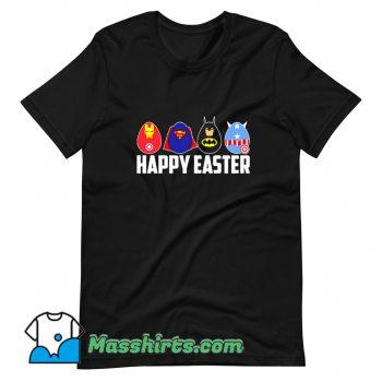 Best Happy Easter Superheroes T Shirt Design