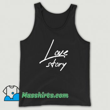Best Happy Valentine Love Story Tank Top