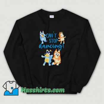Bluey Dad Cant Stop Dancing Sweatshirt