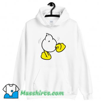 Cartoon Donald Duck Ass Funny Hoodie Streetwear