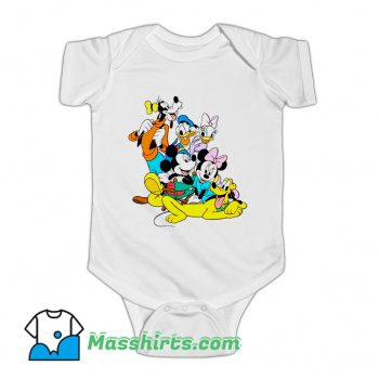 Cheap Disney Donald Duck Characters Baby Onesie