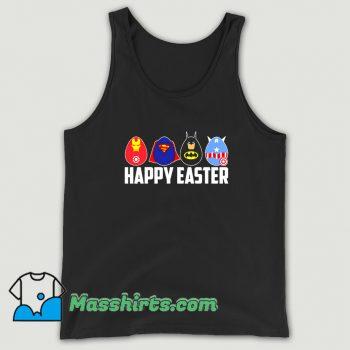 Cheap Happy Easter Superheroes Tank Top