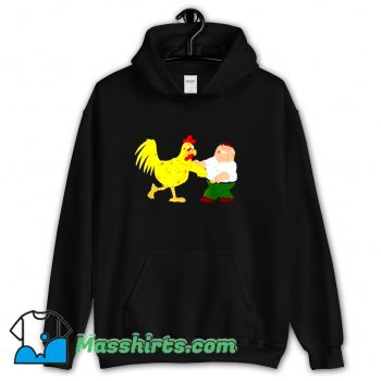 Funny Chicken Fight Family Guy Hoodie Streetwear