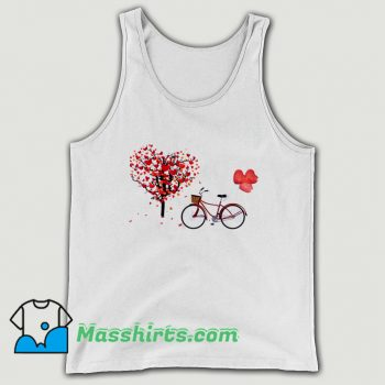 Classic Bicycle Vogue Girl Korean Style Tank Top