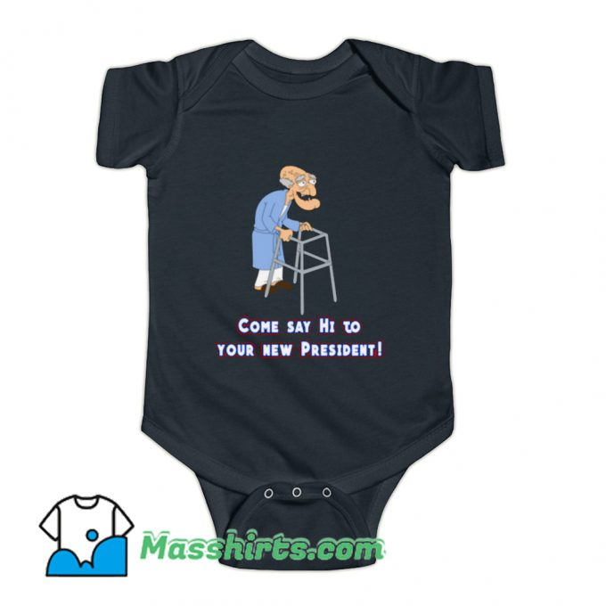 Funny Come Say Hi Family Guy Baby Onesie