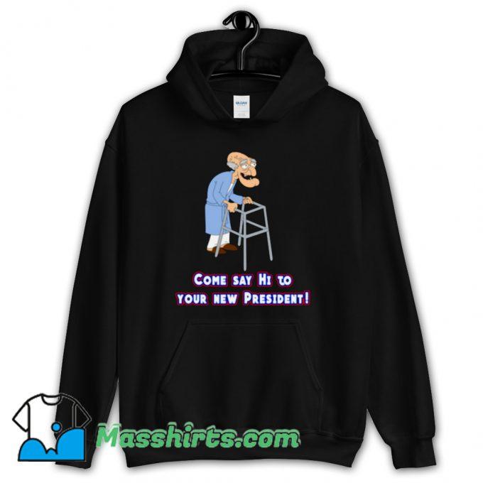 Come Say Hi Family Guy Hoodie Streetwear