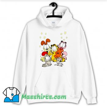 Cool Garfield Friends Are Best Hoodie Streetwear