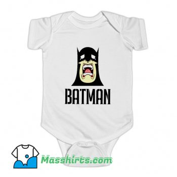Crying Batman Funny Baby Onesie