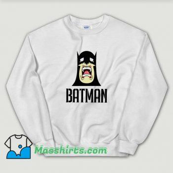 Crying Batman Marvel Avengers Vintage Sweatshirt