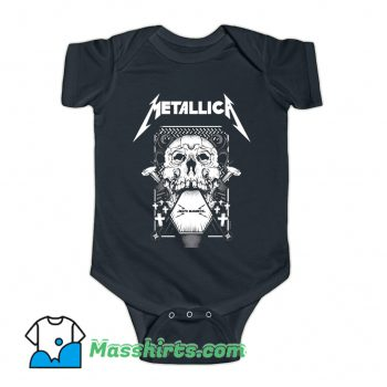 Original Death Magnetic Metallica Baby Onesie
