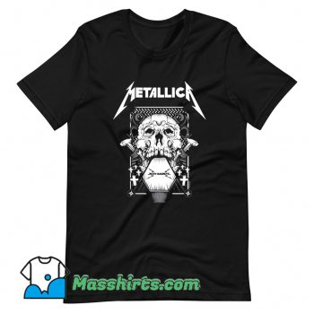 Death Magnetic Metallica Classic T Shirt Design