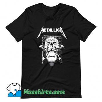 Death Magnetic Metallica Classic T Shirt Design