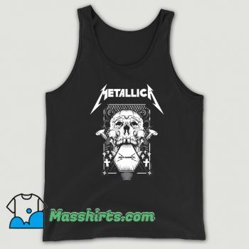 Cheap Death Magnetic Metallica Tank Top