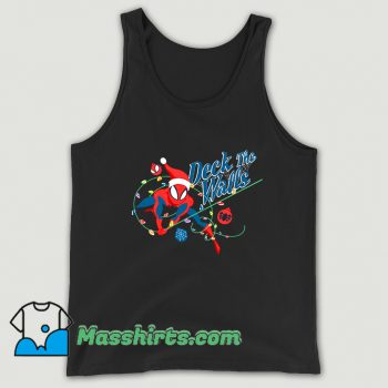 Deck The Walls Spiderman Christmas Tank Top