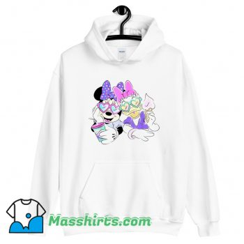 Disney Daisy Duck And Minnie Mouse Hoodie Streetwear