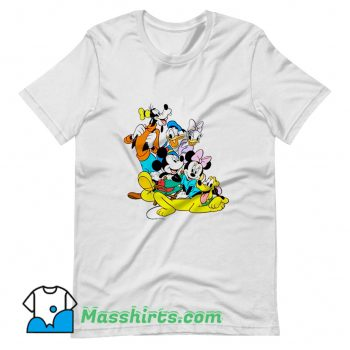 Disney Donald Duck Characters T Shirt Design