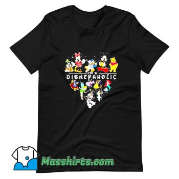 Disneyaholic Donald Duck And Friend T Shirt Design