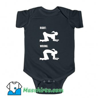 Doggystyle Sex Instructor Enjoy Life 69 Baby Onesie