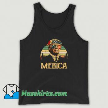 President Donald Trump Thug Life Tank Top