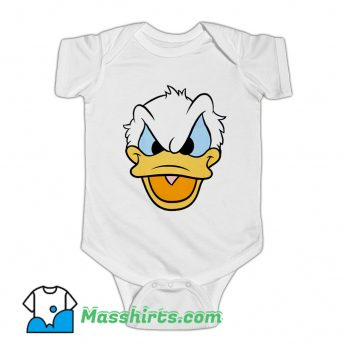 Donald Duck Angry Face Baby Onesie