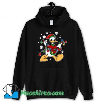 Donald Duck Christmas Light Hoodie Streetwear