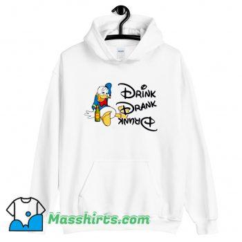 Donald Duck Drink Drank Drunk Hoodie Streetwear