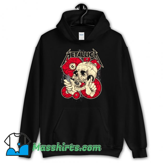 Best Eyes And Skull Metallica Hoodie Streetwear
