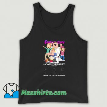 Original Family Guy 22nd Anniversary 2021 Tank Top