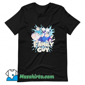 Family Guy Fight Logo T Shirt Design