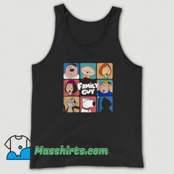 Funny Family Guy Group TV Show Tank Top