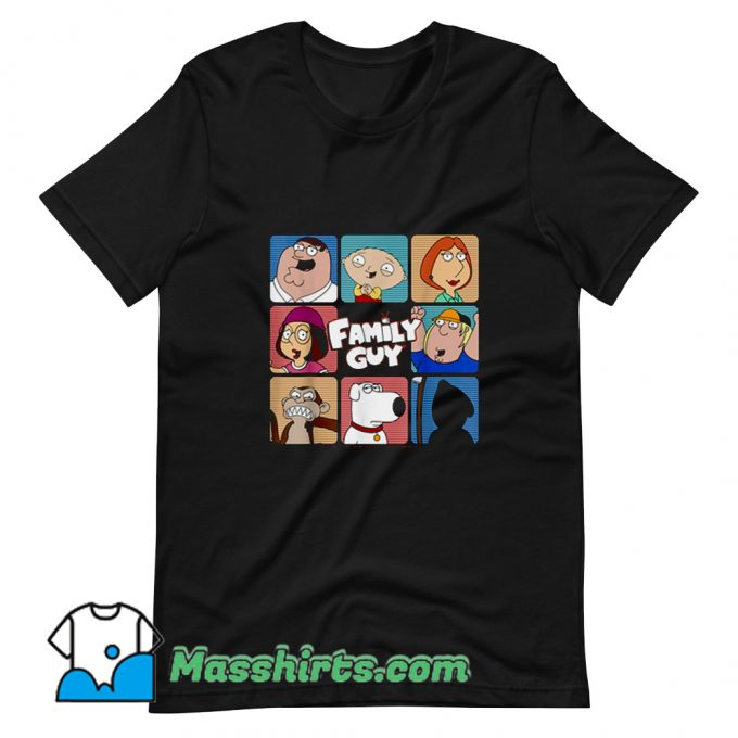 Classic Family Guy Group TV Show T Shirt Design