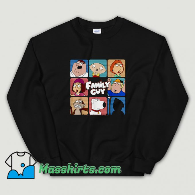 Cool Family Guy Group TV Show Sweatshirt